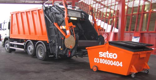 camion multi bennes
